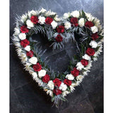 Funeral Flowers Lisburn - Heart Posies - Mandies Creations Florist