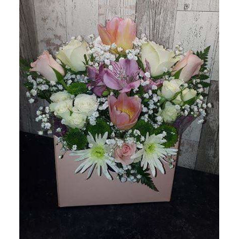 Envelope Flower Box - Mixed Offer - Mandies Creations Florist