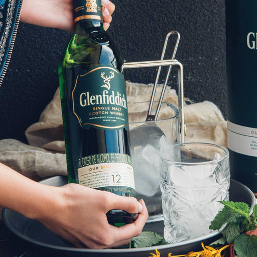 Whisky Glenfiddich 12 Años - 750ml - La Careta Licores de la 70
