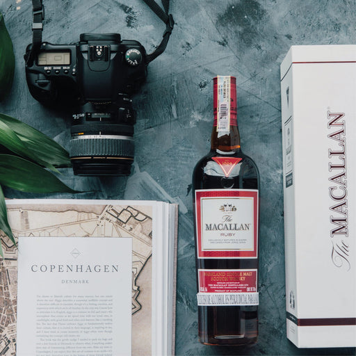 Whisky Macallan Ruby Botella - 700ml - La Careta Licores de La 70 - Domicilios en Medellín