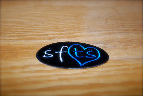 """SFTS"" Sew On/Iron On Emroidered Patch"