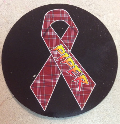 """Rowdy"" Roddy Piper Sticker 2.5"" round"