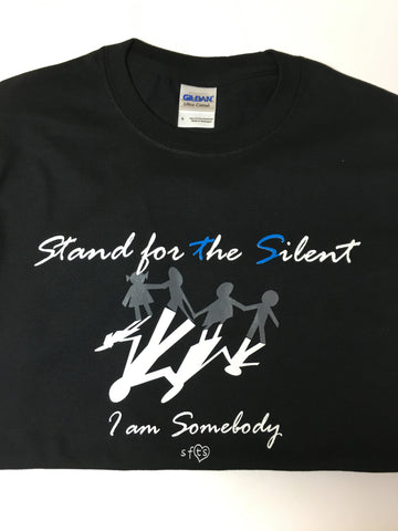 "Black ""I am Somebody"" Shirt"