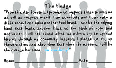 100 Pledge Cards