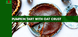 Pumpkin Tart with Oat Crust