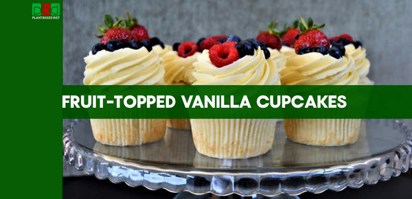Fruit-Topped Vanilla Cupcakes