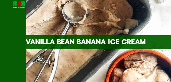 Vanilla Bean Banana Ice Cream