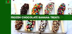 Frozen Chocolate-Banana Treats