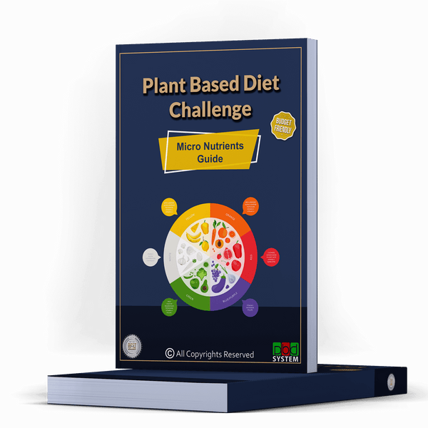 28Day Plant Based Diet - Micro nutrients Guide