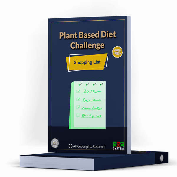 28Day Plant Based Diet - Grocery Shopping List