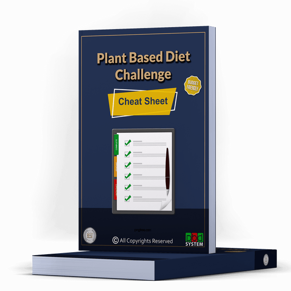 28Day Plant Based Diet - Cheat Sheet