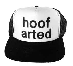 Hoof Arted Inappropriate Trucker Hat
