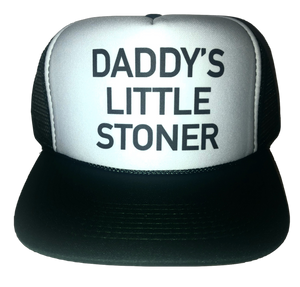 Daddy's Little Stoner Trucker Hat