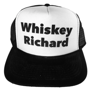 Whiskey Richard Trucker Hat