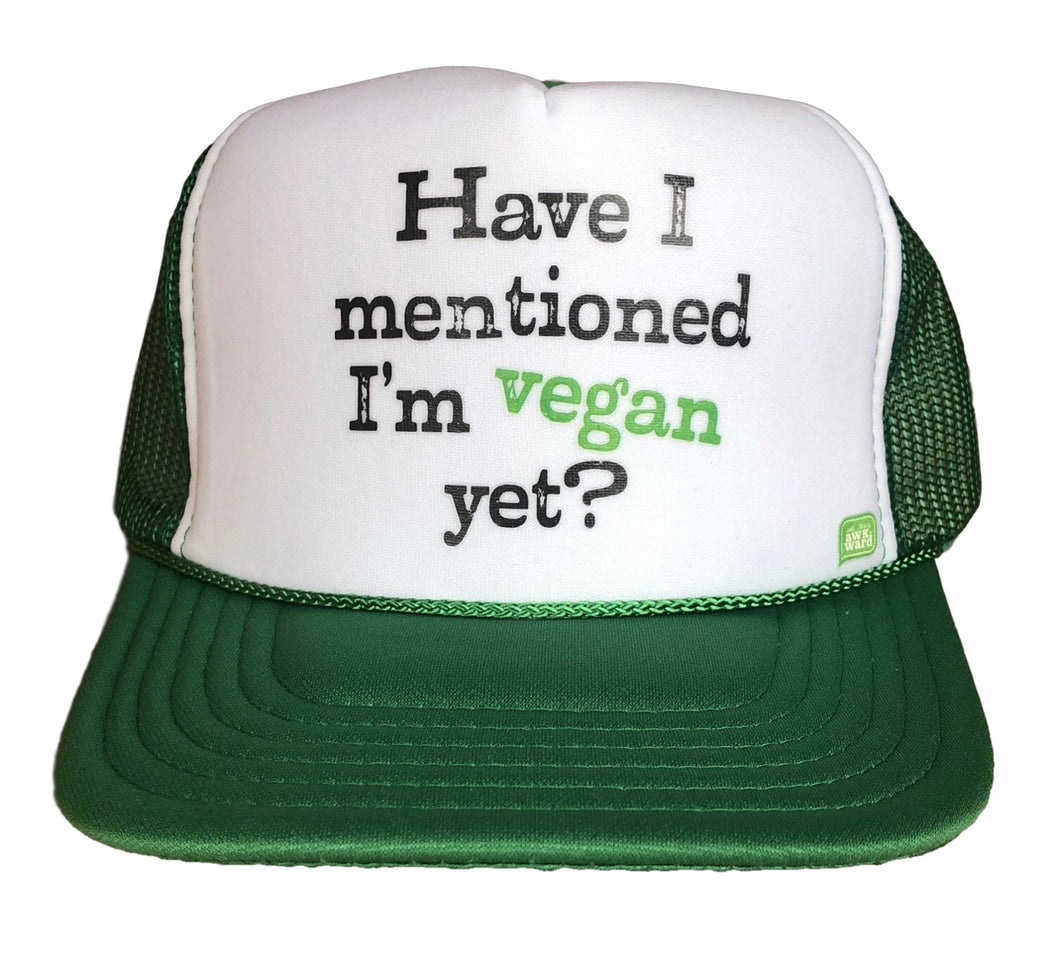 I'm Vegan Trucker Hat