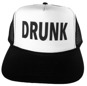Drunk Trucker Hat