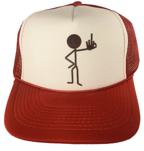 Middle Finger Trucker Hat