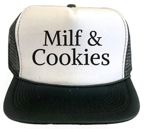 Milf & Cookies Trucker Hat