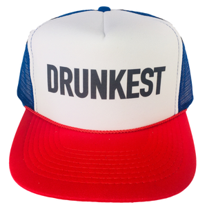 Drunkest Trucker Hat