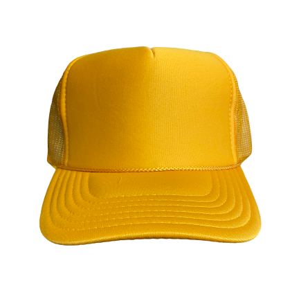 Color Front Custom Trucker Hat (Text Only)