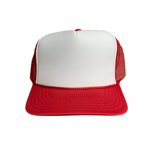 White Front Custom Trucker Hat