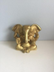 Brass Ganesha Statue Without Base