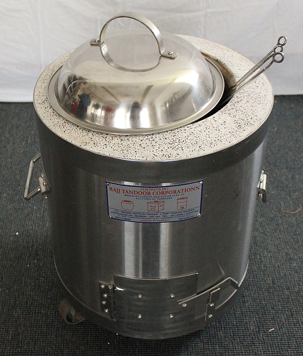 Round Baby Charcoal Tandoor | Home Use