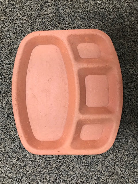 Clay 4 Compartment Plate
