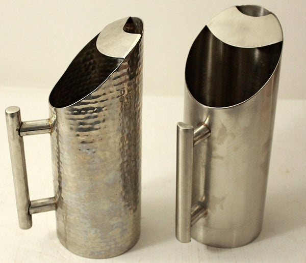 Stainless Steel Hammered Pitcher / Jug for Restaurants - 2 ltrs