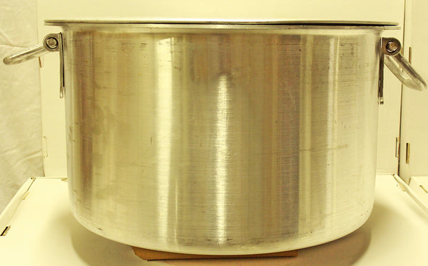 Heavy Duty Large Aluminum Pot w/ Lid for Catering / Restaurant 25""