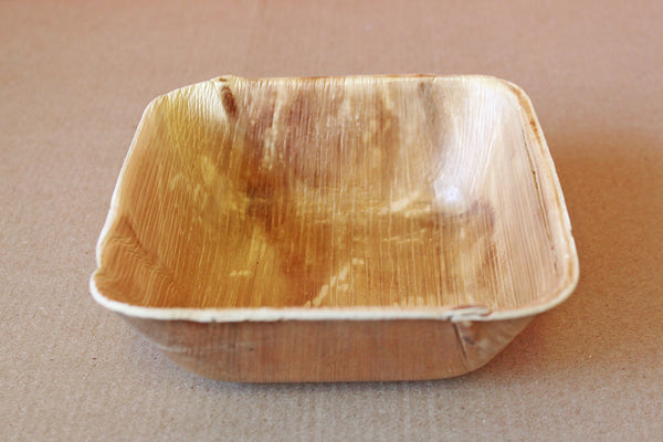 Banana Leaf Square Bowl