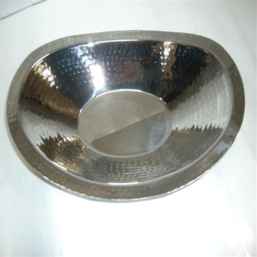 Stainless Steel Oval Shape Roti Basket for Restaurants