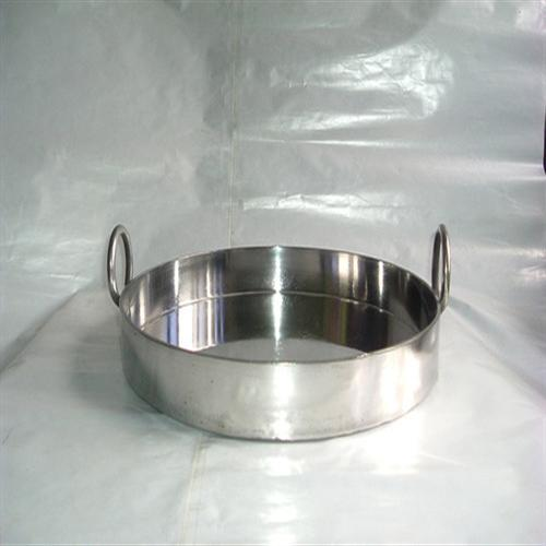 Stainless Steel Wall Type Jalebi Kadai for Restaurants 18""