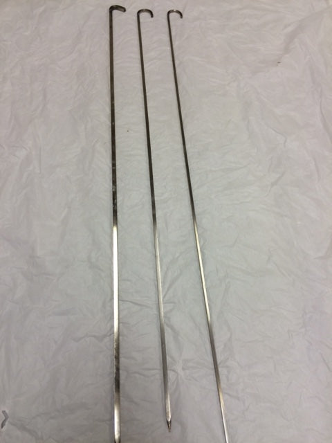 Long Skewer / Kebab Sticks for Tandoor Oven - 3 to  8mm (Round)