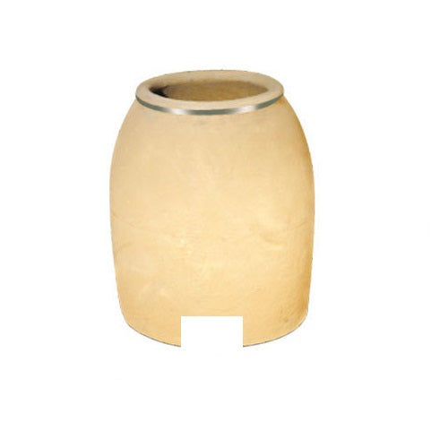 Clay Tandoor White Pot for Tandoori Oven