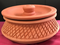 Clay Cooking Handi, Undhiyu / Biryani / Curry Making Earthen Pot (Matla) 8""