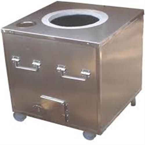 Stainless Steel Square Gas Tandoori Oven for Restaurant