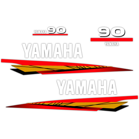 2013 decal aufkleber addesivo sticker set Yamaha 60 four stroke outboard