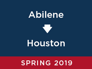 Spring-2019: Abilene TO Houston