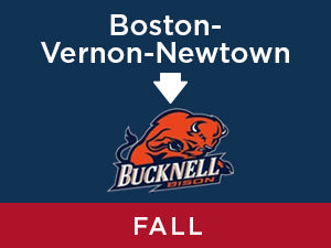 Fall-2019: Bucknell FROM Boston - Vernon - Newtown