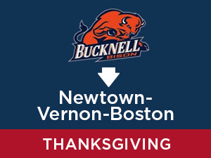 Thanksgiving-2019: Bucknell TO Newtown - Vernon - Boston