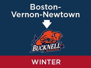 Winter-2020: Bucknell FROM Boston - Vernon - Newtown