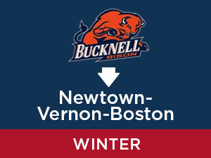 Winter-2019: Bucknell TO Newtown - Vernon - Boston