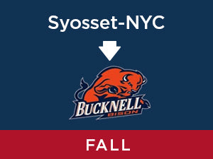 Fall-2019: Bucknell FROM Syosset - NYC