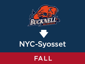 Fall-2019: Bucknell TO NYC - Syosset