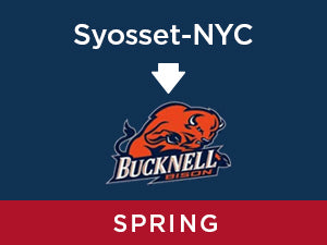 Spring-2020: Bucknell FROM Syosset - NYC