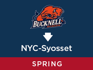 Spring-2020: Bucknell TO NYC - Syosset