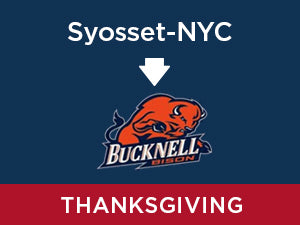 Thanksgiving-2019: Bucknell FROM Syosset - NYC