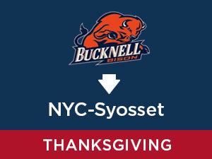 Thanksgiving-2019: Bucknell TO NYC - Syosset