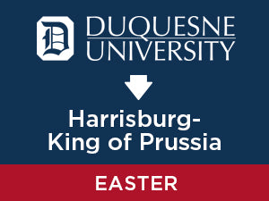 Easter-2020: Duquesne TO Harrisburg - King of Prussia
